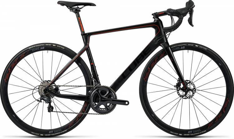Cube Agree C:62 Race Disc carbon n flashred 2016