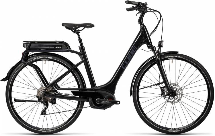 Cube Touring Hybrid Pro 400 black n grey Femme - Easy Entry 2016