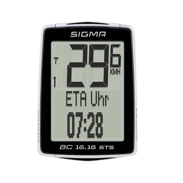 Sigma Bicycle Computer BC 16.16 STS noir