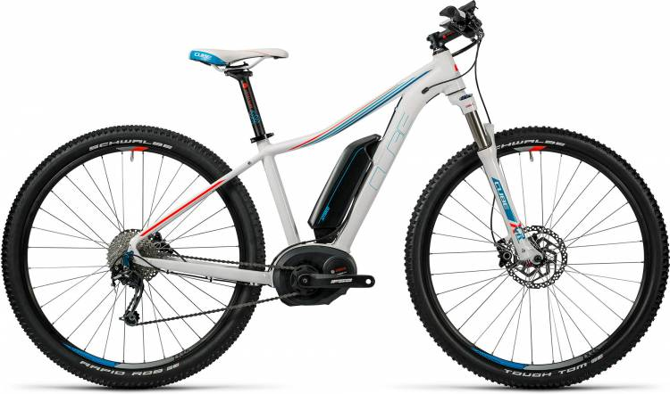 Cube Access WLS Hybrid Pro 500 white n blue n flashred 2016