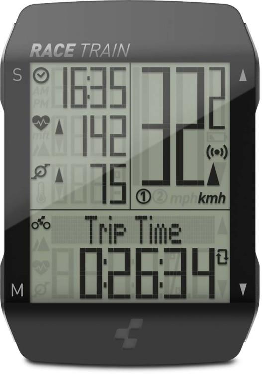 Cube Bike Computer RACE TRAIN noir n anthracite métallisé