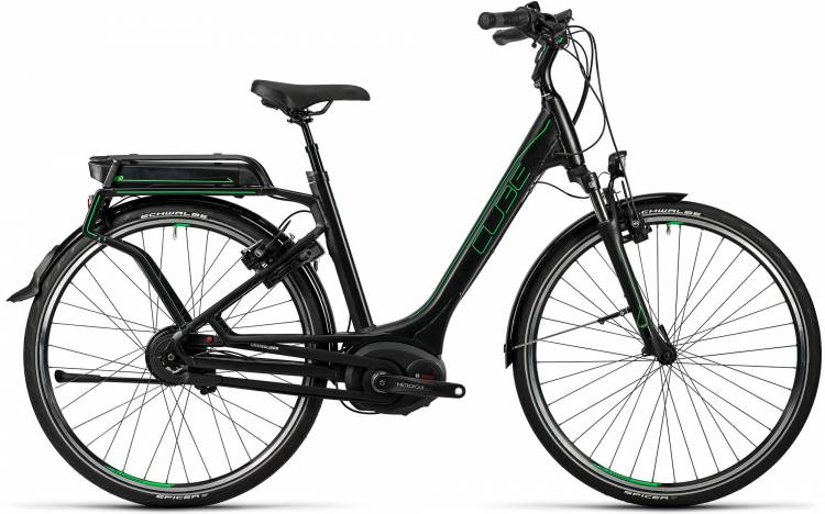 Cube Delhi Hybrid Pro 500 glossy n flashgreen Femme - Easy Entry 2016