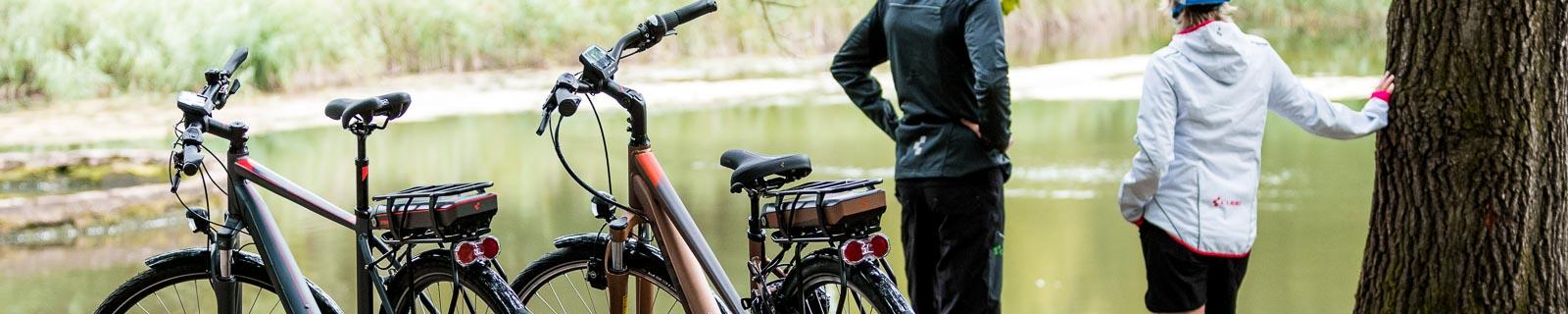 Vélos trekking électriques & vélos de ville électriques