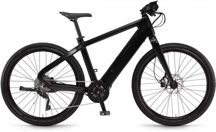 "Winora radar plain 500Wh 27.5"" schwarz matt/glanz 2017 - Vélo fitness électrique Homme"