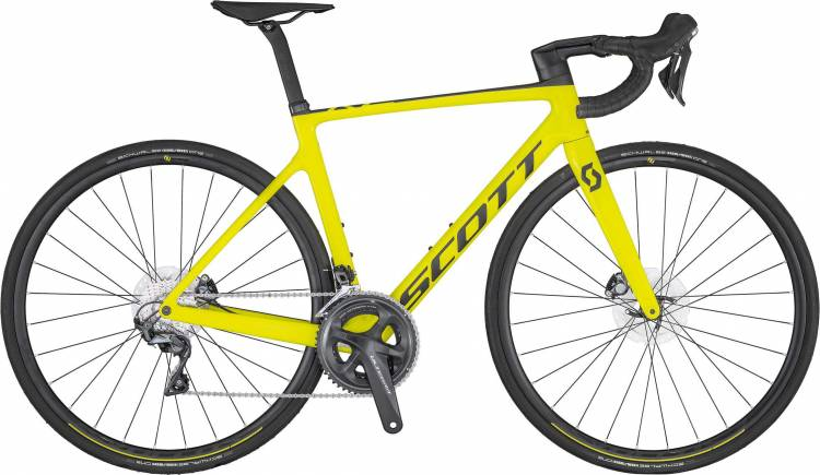 Scott Addict RC 30 yellow 2020