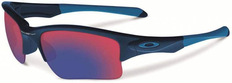 Oakley Quarter Jacket (Youth Fit) Polished Navy / Red Iridium