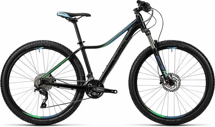 Cube Access WLS Race 27.5 / 29 black n green 2016