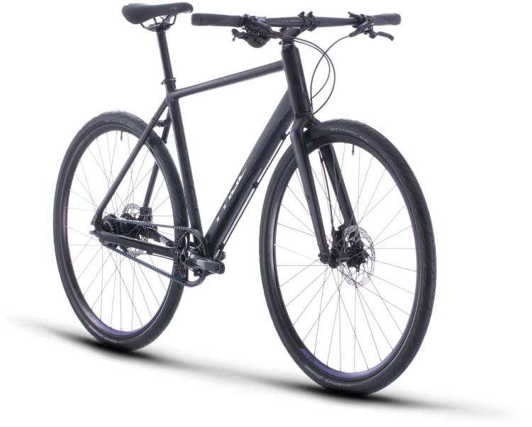 Cube Editor black n purple 2020 - Vélo fitness Homme
