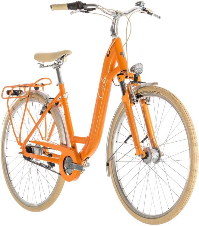 Cube Ella Cruise orange n cream - Col de cygne 2019