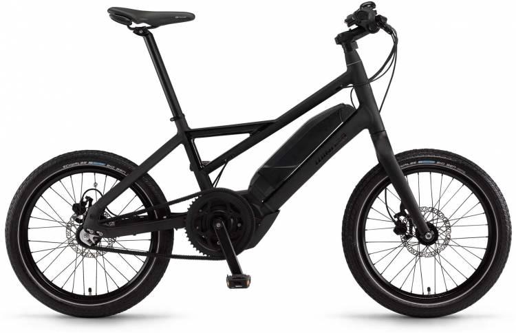 """Winora radius plain 400Wh 20"""" 3-G iMotion schwarz matt/glanz 2017 - Vélo fitness électrique Homme"""
