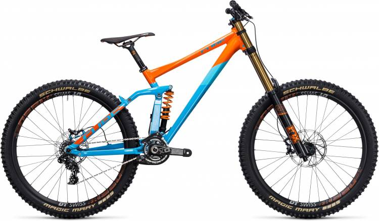 Cube TWO15 HPA SL 27.5 blue orange 2017