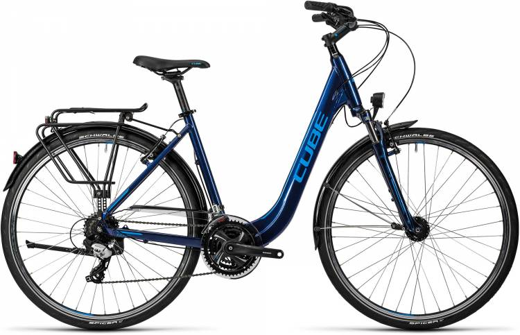 Cube Touring midnight blue metallic Femme - Easy Entry 2016