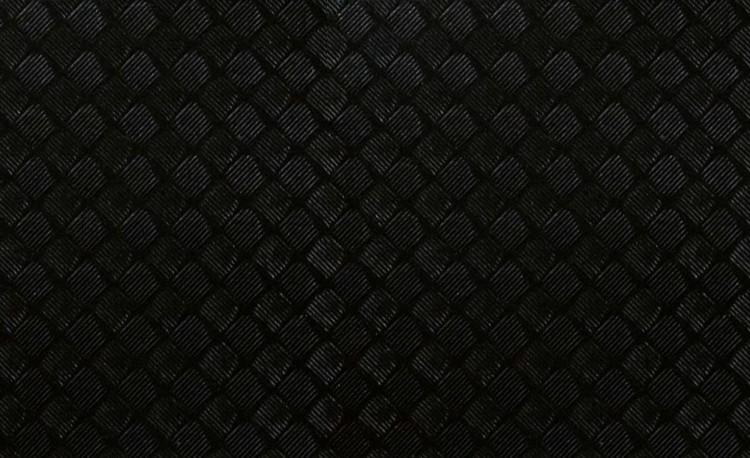Bande de guidon en cube noir de carbone