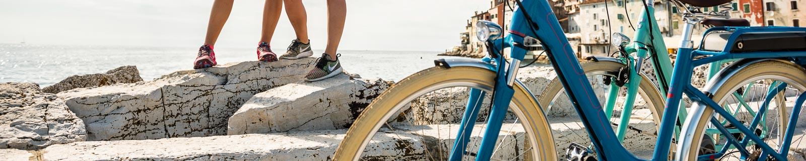 Vélos trekking à col de cygne