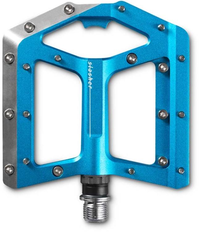 Pédales Cube SLASHER bleu