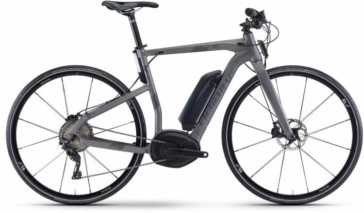 Haibike XDURO Urban 4.0 500Wh titan/anthrazit matt 2017 - Vélo fitness électrique Homme