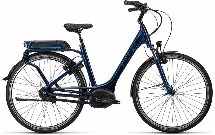 Cube Travel Hybrid Pro 500 darkblue n flashblue Femme - Easy Entry 2016