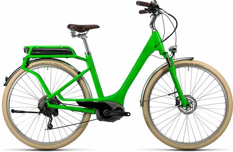 Cube Elly Ride Hybrid 400 flashgreen n kiwi Femme - Easy Entry 2016