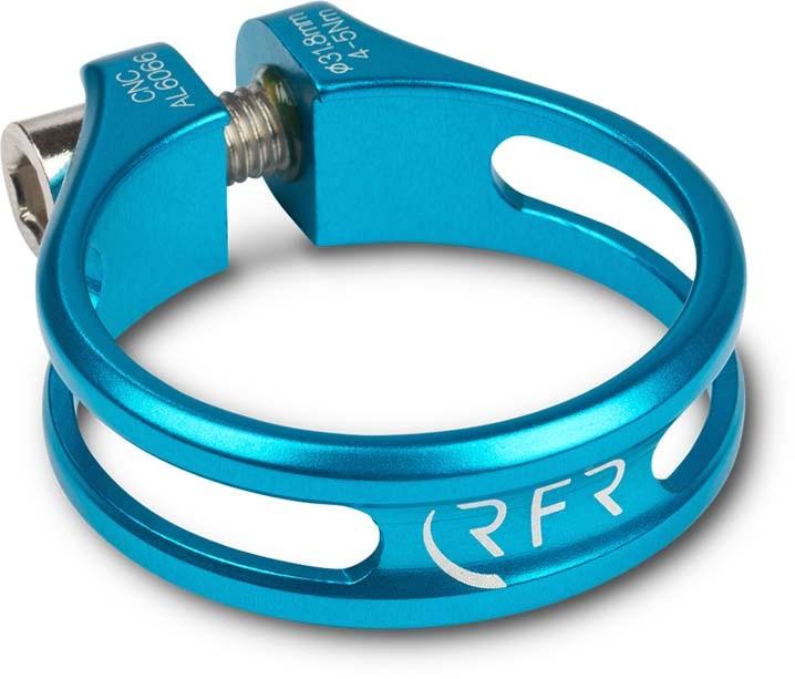 Pince de siège RFR Ultralight 31,8 mm bleu