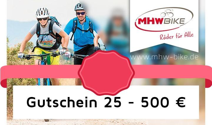 Variantes de bons MHW de 25,- à 500,- Euro
