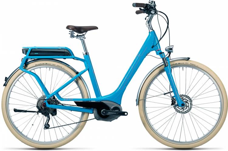 Cube Elly Ride Hybrid 400 blue n flashred Femme - Easy Entry 2016