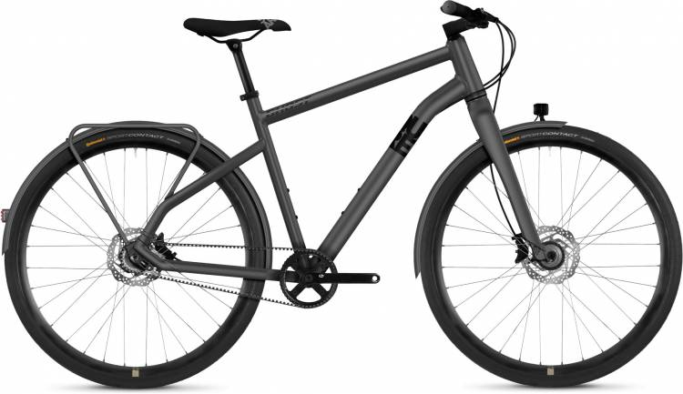 Ghost Square Urban X7.8 AL 2020 - Vélo fitness Homme