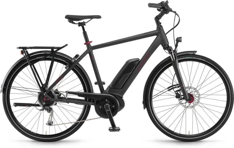 Winora Tria 9 500Wh black dull - Homme 2021