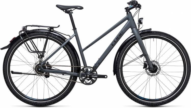 Cube Travel Pro grey n black Femme Trapez 2017