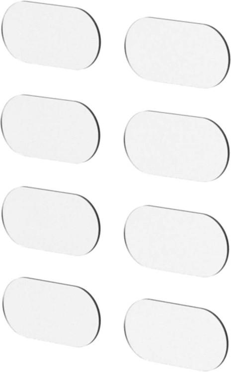 Set de protection contre les éclats de pierre en cube transparent