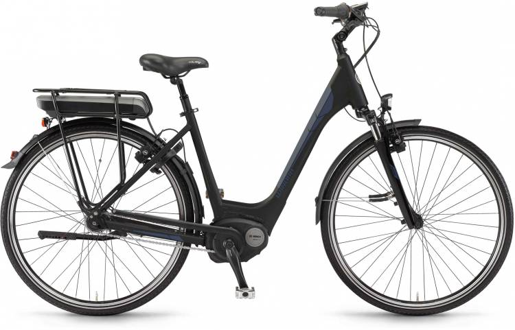 "Winora B380.C 500Wh 28"" RT schwarz matt Easy Entry 2017"