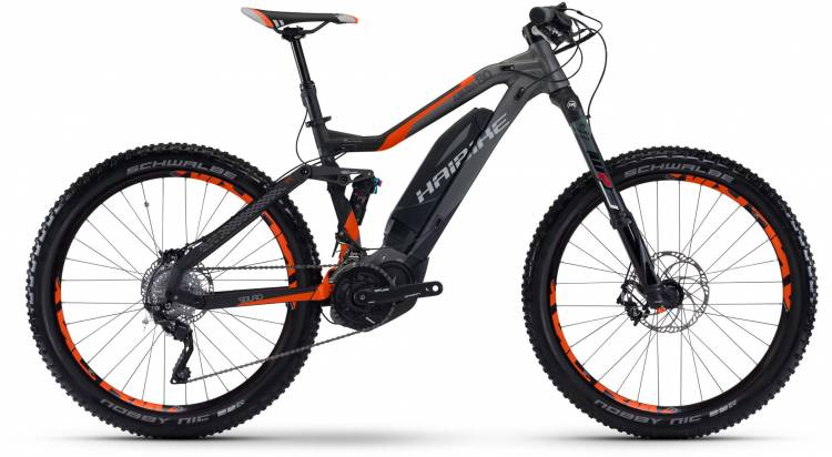 Haibike SDURO AllMtn 8.0 500Wh titan/anthr./orange matt 2017