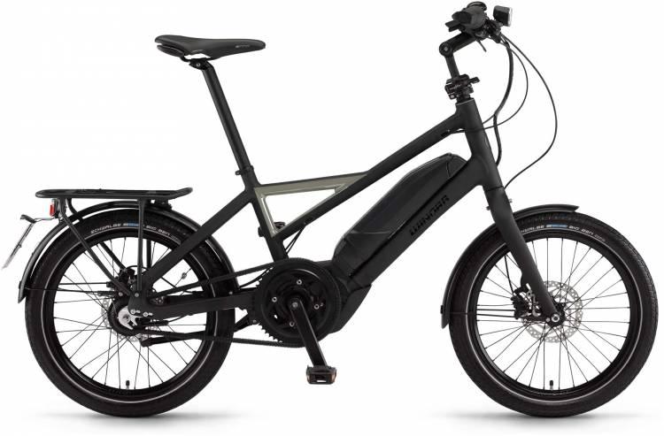 "Winora radius speed 400Wh 20"" schwarz/metal matt 2017 - Vélo fitness électrique Homme"