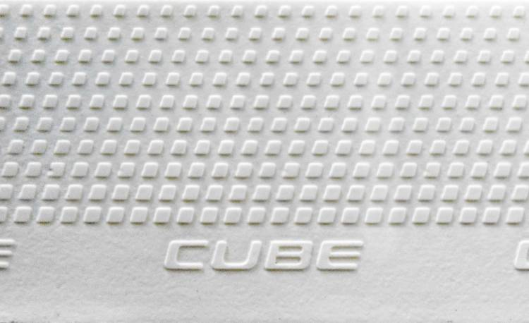 Cube Natural Fit Guidon Tape Tape Grip blanc