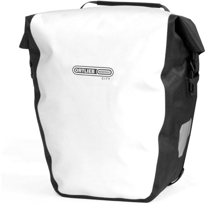 Ortlieb Back-Roller City (paire) sac de roue arrière blanc