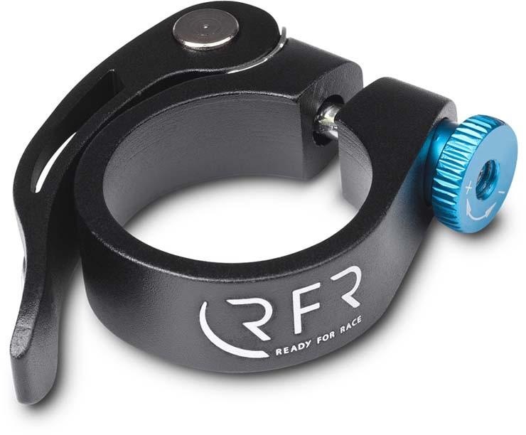 Collier de serrage RFR avec blocage rapide 31,8 mm noir n bleu
