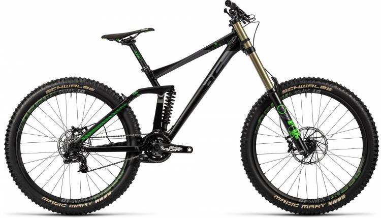 Cube TWO 15 HPA Race 27.5 black n green 2016