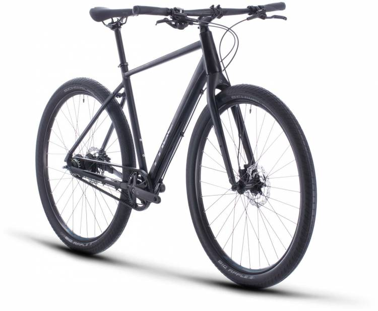Cube Hyde Pro black n blue 2020 - Vélo fitness Homme