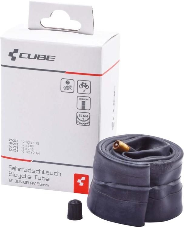 """Tuyau flexible 12"""" JUNIOR/MTB AV 35mm noir"""