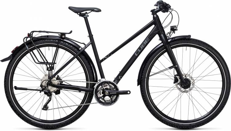 Cube Travel EXC black n grey Femme Trapez 2017