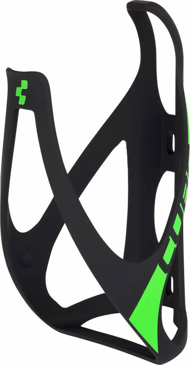 Porte-bidon Cube HPP matt black n green