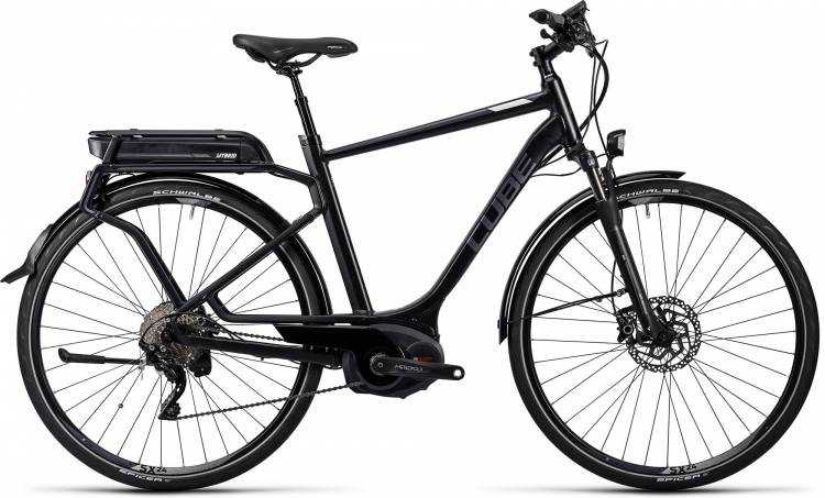 Cube Touring Hybrid Pro 400 black n grey Homme 2016