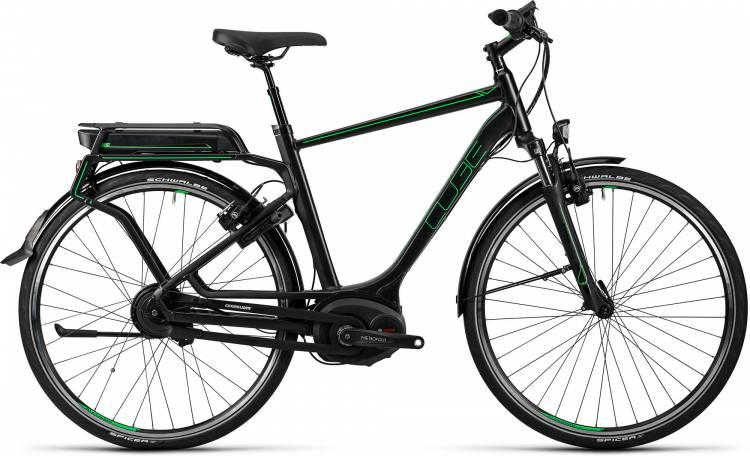 Cube Delhi Hybrid Pro 500 glossy n flashgreen Homme 2016