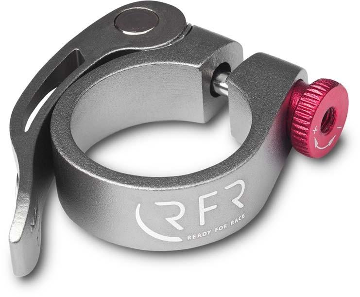 Collier de serrage RFR à dégagement rapide 34,9 mm gris n rouge n gris