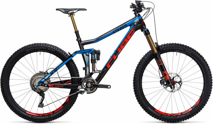 Cube Stereo 160 C:68 Action Team 27.5 actionteam 2017