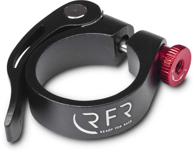 Collier de serrage RFR à dégagement rapide 34,9 mm noir n rouge n noir